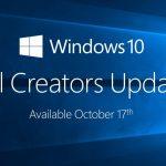 2017年秋の大規模アップデートFall Creators Update配信開始!