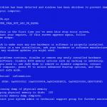 Windowsでブルースクリーンになったときのメモリダンプを止める方法