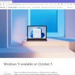 Windows 11のリリースは10月5日に決定。今回もフェーズドロールアウト